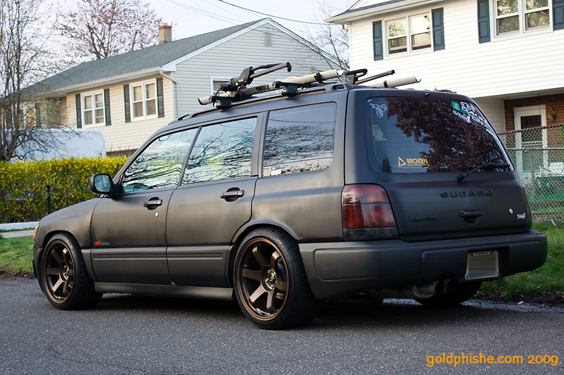 Slammed foresters retro rides for Subaru forester paint job cost